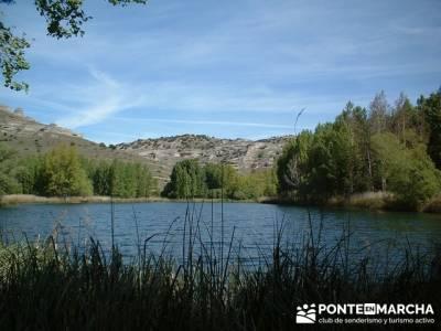 Monumento Natural de la Sierra de la Pela y Laguna de Somolinos; senderismo avila; mochila de sender